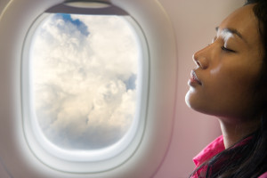 How to get glowing skin after a long flight