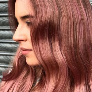 Blush and bold pink hair trend spring 2019