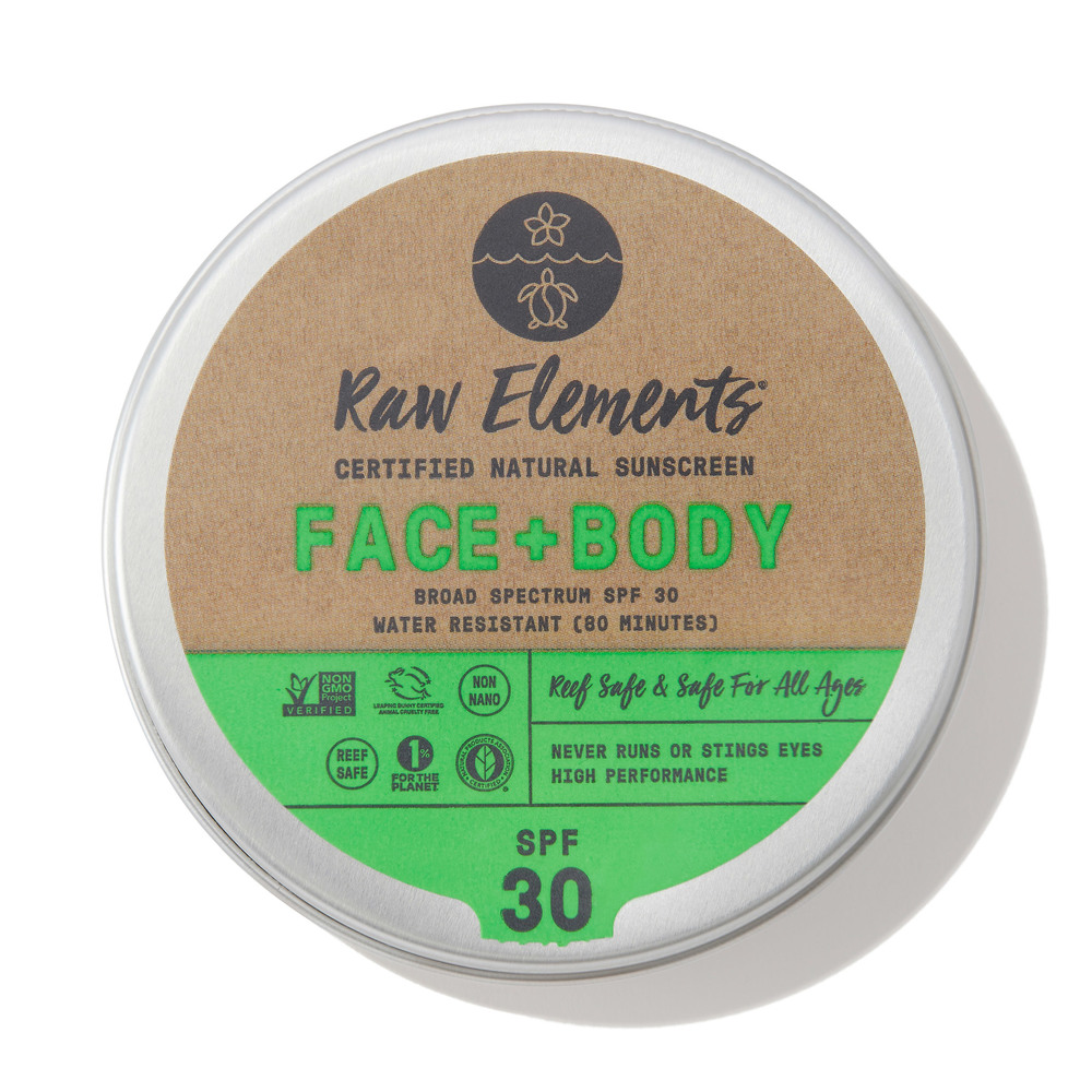 Raw Elements FACE + BODY SPF 30