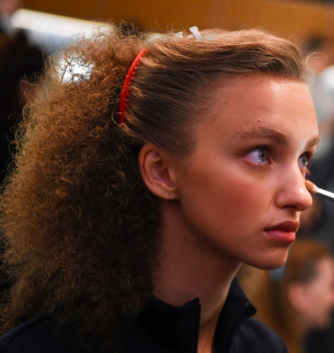 Tory Burch NYFW 2020 Hair