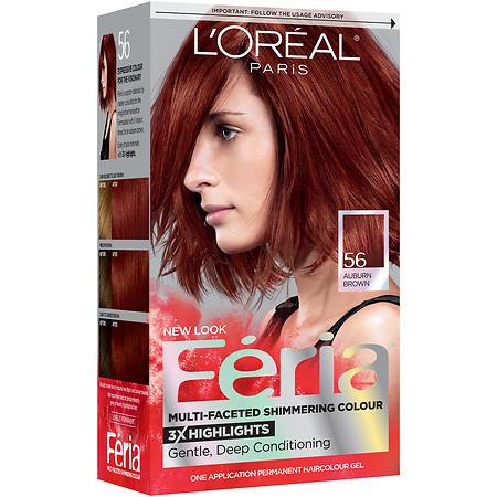 L'Oreal Paris Feria Power Red Hair Dye in R68