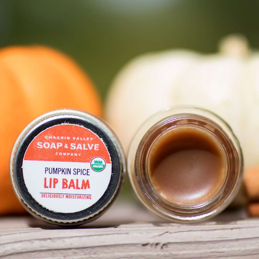 Chargrin Valley Soap & Salve Company Pumpkin Spice Lip Balm